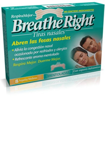 TIRA ADH NASAL BALSAMICA breathe right (t- gde 8 u)