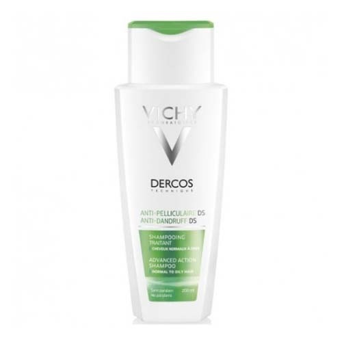 DERCOS TECHNIQUE ANTICASPA GRASA (200 ML)