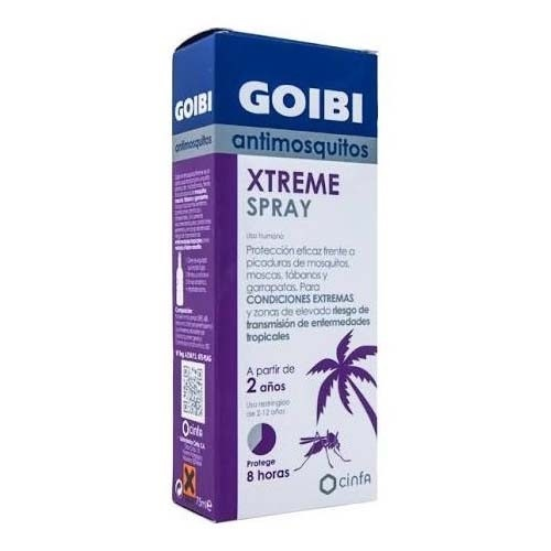 REPELENTE goibi antimosquitos xtreme spray (75 ml)