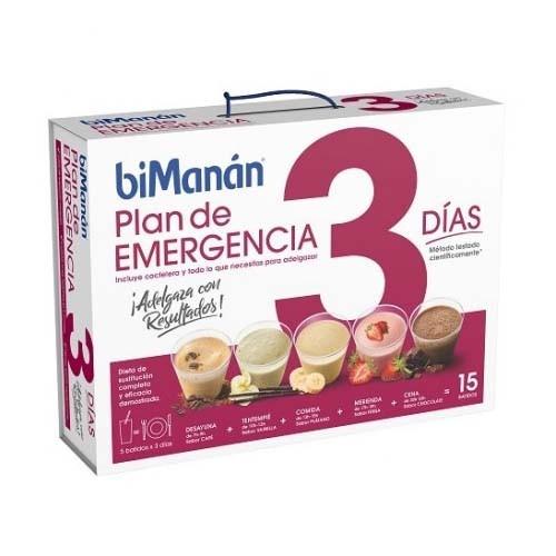BIMANAN COMPLET DIET 3 DIAS COMPLETOS (15 SOBRES 44 G)