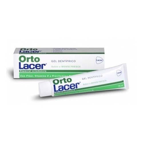 Ortolacer gel dentifrico (menta  75 ml)