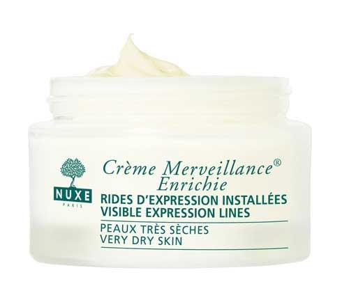 Nuxe merveillance pieles secas 50ml, crema antiedad