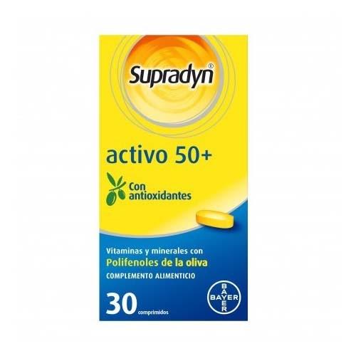 Supradyn activo 50+ (30 comp)