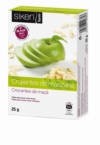Siken form crujientes de manzana (25 g)