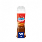 Durex real feel pleasure gel vaginal (50 ml)