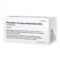 MOONBELL 1,5 MG COMPRIMIDOS EFG. , 1 comprimido