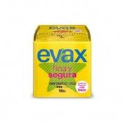 EVAX FINA Y SEGURA compresas higienicas femeninas (normal 16 compresas)