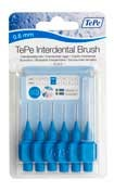 Cepillo interdental tepe 0.6 mm azul