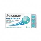 BUCOMAX CON LIDOCAINA PASTILLAS PARA CHUPAR SABOR MENTA, 24 pastillas