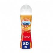 LUBRICANTE HIDROSOLUBLE INTIMO durex play fresa  pleasure gel (50 ml)