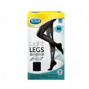 Medias e.t. cint comp ligera 60 den - scholl light legs (negro t - m)