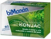 Bimanan glucomanano de konjac para 10 dias (500 mg 60 caps)