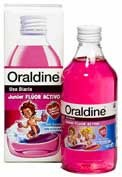 Oraldine junior enjuague bucal 400 ml sabor chic