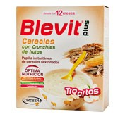 BLEVIT PLUS CEREALES Y CRUNCHIES DE FRUTA (600 G)