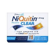 NIQUITIN CLEAR 21 mg/24 HORAS PARCHES TRANSDERMICOS , 7 parches