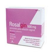 ROSALGIN 500 mg GRANULADO PARA SOLUCION VAGINAL, 200 sobres
