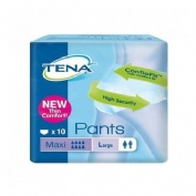TENA PANTS MAXI absorb inc orina (t- gde 10 u)