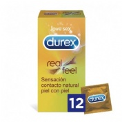 Durex real feel preservativo sin latex (12 u)