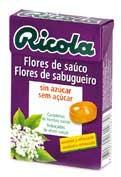 Ricola caramelos flor sauco 50g