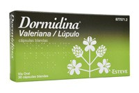 DORMIDINA VALERIANA/LUPULO CAPSULAS BLANDAS , 30 cápsulas