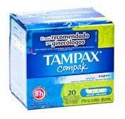 Tampax compak super 20u