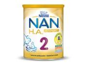 NAN 2 EXCEL LECHE LACTANTES CONTINUACION - HIPOALERGENICA ENRIQUECIDA CON HIERRO (800 G)