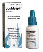 COULDESPIR PULVERIZADOR NASAL, 1 envase pulverizador de 15 ml