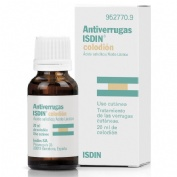 ANTIVERRUGAS ISDIN COLODION , 1 frasco de 20 ml