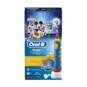 ORAL-B STAGES cepillo dental electrico recargable infantil (mickey +3 años suave)