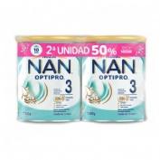 Nan optipro 3 (duplo 2 x 800 g)