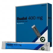 IBUDOL 400 MG SUSPENSION ORAL , 20 sobres