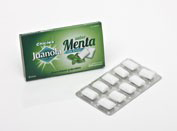 Juanola chicle menta (10 u)