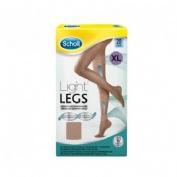 SCHOLL LIGHT LEGS medias e.t. cint comp ligera 20 den (carne t- xl)