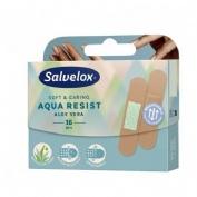 APOSITO ADHESIVO ALOE VERA salvelox aqua resist (19 mm x 72 mm 16 apositos)