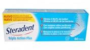 LIMPIEZA PROTESIS DENTAL steradent triple accion plus (60 comprimidos)