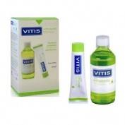 Vitis orthodontic pasta dentifrica y colutorio (pack)