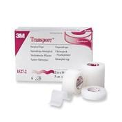 TRANSPORE esparadrapo hipoalergico (plastic portar 5 m x 2,5 cm)