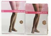 Media larga (a-f) comp normal - farmalastic blonda (beige t- peq)