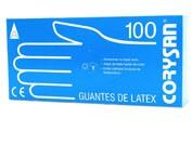 Guantes latex (T- gde 100 u)