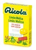 Ricola caramelos limón melisa 50g