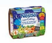 Nestle peque cena crema verduras bechamel pollo (200 g 2 u)