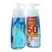 Bactopur gel limpiador - e45 lutsine (200 ml envase duplo)