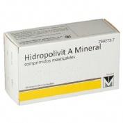 HIDROPOLIVIT A MINERAL COMPRIMIDOS MASTICABLES, 30 comprimidos