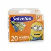 APOSITO ADHESIVO salvelox (minions 20 apositos infantiles)