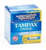 Tampax compak regular 20 u