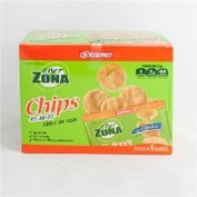 Enerzona 40-30-30 chips de soja (clasico 23 g 1 bolsita)