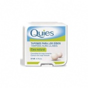 QUIES tapones oidos cera (natural 16 u)