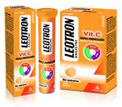 Leotron vitamina c (18 comp efervescentes)