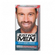 GEL COLORANTE just for men bigote y barba (30 cc castaño oscuro)