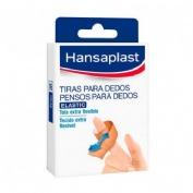 APOSITO ADHESIVO hansaplast tiras adhesivas para dedos (16 u)
